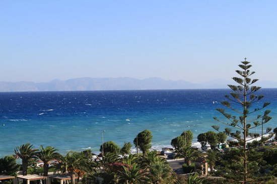 Sheraton Rhodes Resort : View from the hotel room