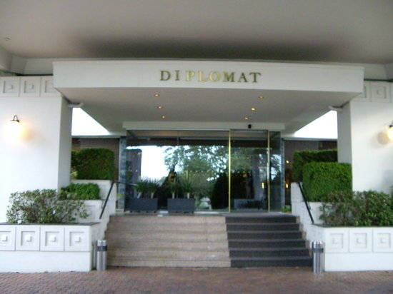 Diplomat Hotel: 外観