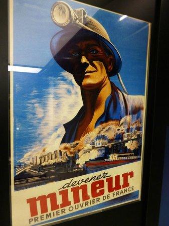 Museum Les Mineurs Wendel: 'Devenez Mineur' - says it all !