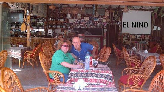 El Nino Restaurant & Bar: NO WIND HERE !