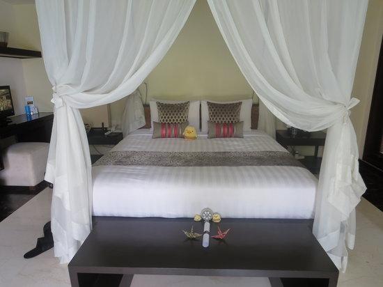 Villa Air Bali Boutique Resort & Spa: ベッド