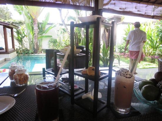 Villa Air Bali Boutique Resort & Spa: アフタヌーンティー