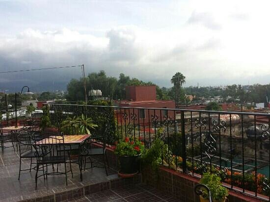 Posada Don Mario: toit terrasse