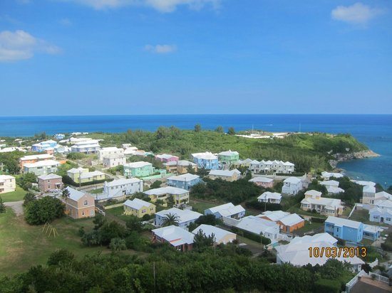 St. David's Lighthouse : view from the top