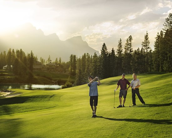 Canmore, Canada: Golfing at Silvertip