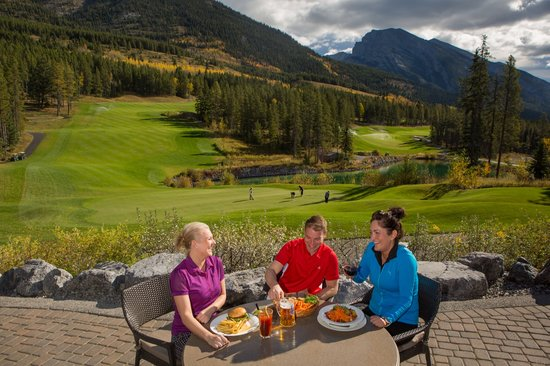 Dining in Canmore