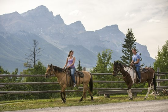 Canmore, Canada: Horseback Riding at Cross Zee Ranch