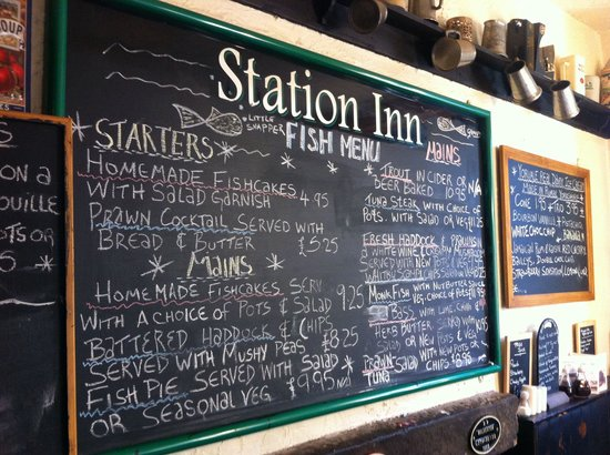 The Station Inn - The Pub: Meals
