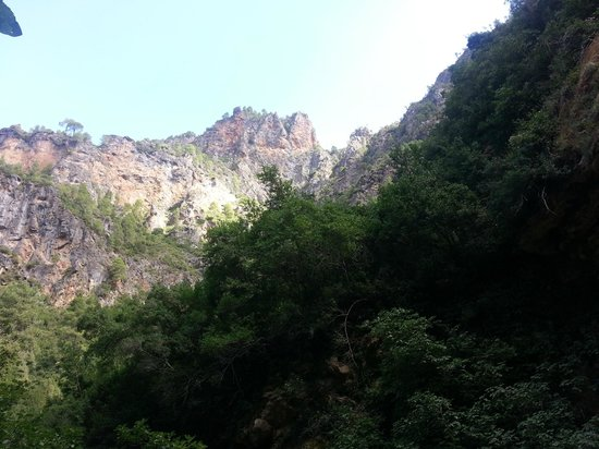 Cascades d'Akchour: cascades d'achkour
