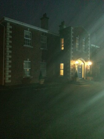 St. Martin's Bed & Breakfast: The best picture I could get of the exterior in the wind and rain
