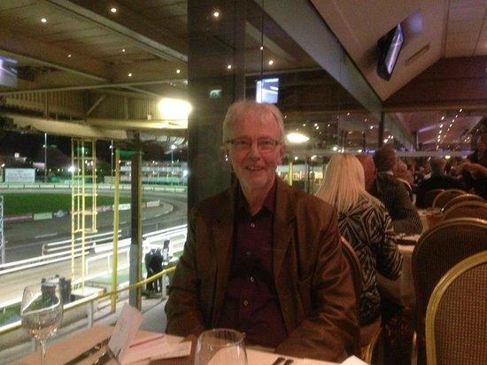 Owlerton Greyhound Stadium: In the restaurant
