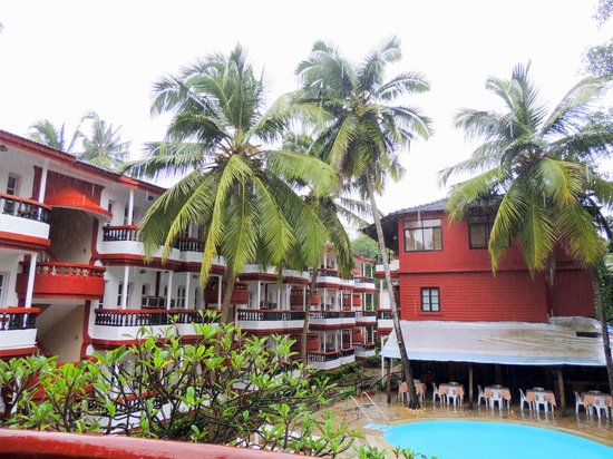 Santiago Beach Resort : View from room
