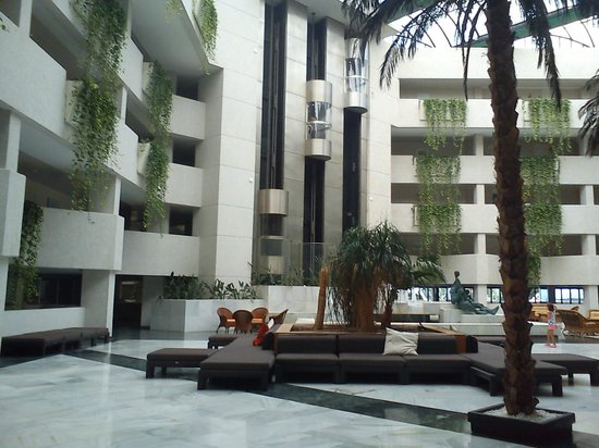 Hotel Almerimar: ZONA DE RECEPCION