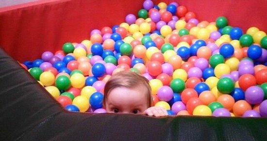 Glazer Children's Museum : Mini Ball Pit