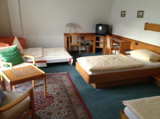 City Hotel Im Kaiserbau: Dubbelrum