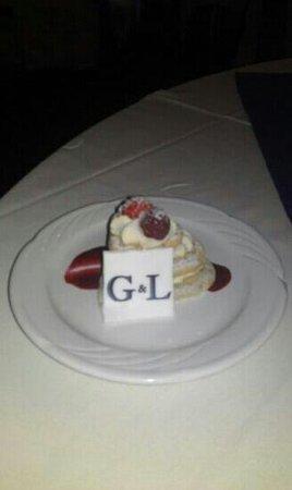 Best Western Park Hall Hotel & Leisure Club: wedding breakfast dessert