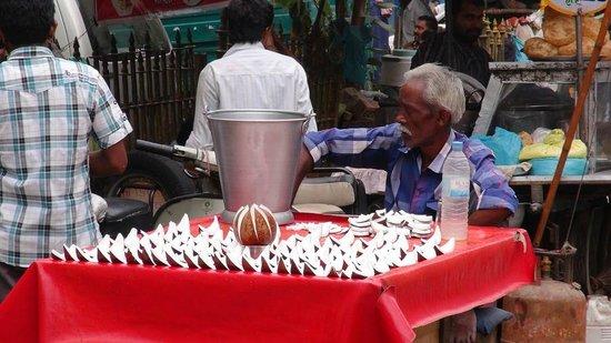 Hotel Tara Palace Chandni Chowk: Street food