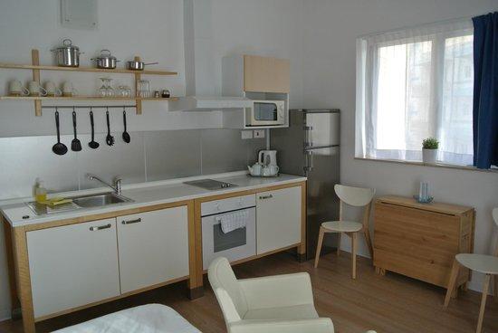Park Lane Aparthotel : Cuisine-chambre