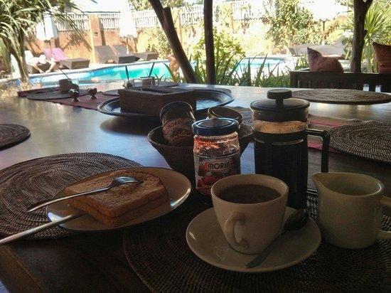 Gili Hideaway : Breakfast