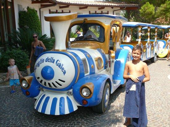 Hotel Scoglio della Galea: IL TRENINO DELL'HOTEL