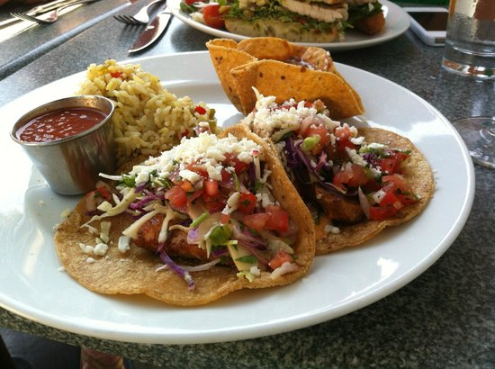 The Fishery: Swordfish Tacos