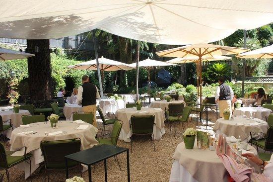 Le jardin de russie picture of hotel de russie rome for Le jardin 489 rome