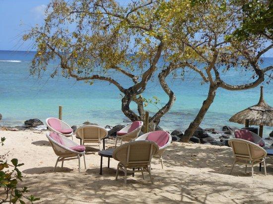 Club Med Albion Villas - Mauritius: Beach area at Albion