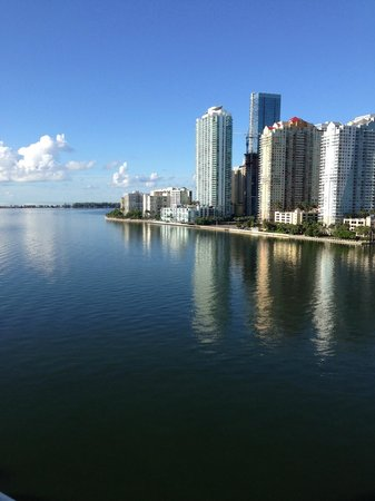 Mandarin Oriental, Miami: View from my Hotel Room