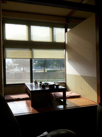Ryokan Yuri: Dining area