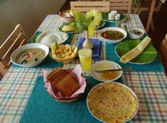 Rose Garden Homestay : food on order