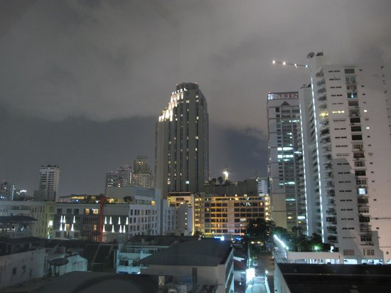 SilQ Bangkok: Nice view from the 8th floor room