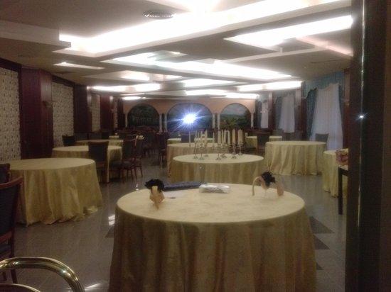 Hotel Restaurant Lido: Salone living e ristorante