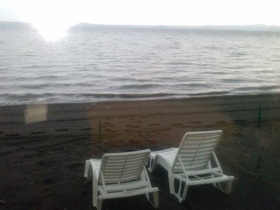 Hotel Restaurant Lido : Spiaggia privata.
