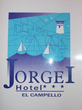 Hotel Jorge I: Hotel logo