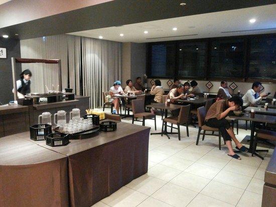 Hotel Dormy Inn Nagasaki : Ramen for free after 9.00 p.m.