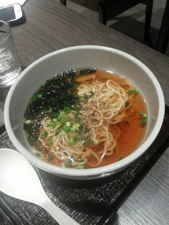 Hotel Dormy Inn Nagasaki : Free of charge Ramen offered by hotel 