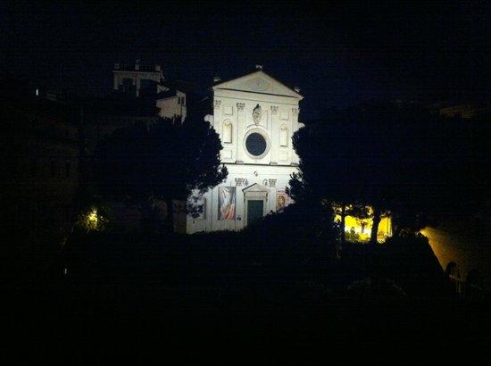 Hotel Columbus: Santo Spirito in Sassia from room