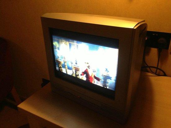 "The Coach House Inn: This is the ""Flat Screen TV"""