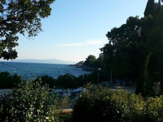 Hotel Villa Vera : Vue de la terrasse