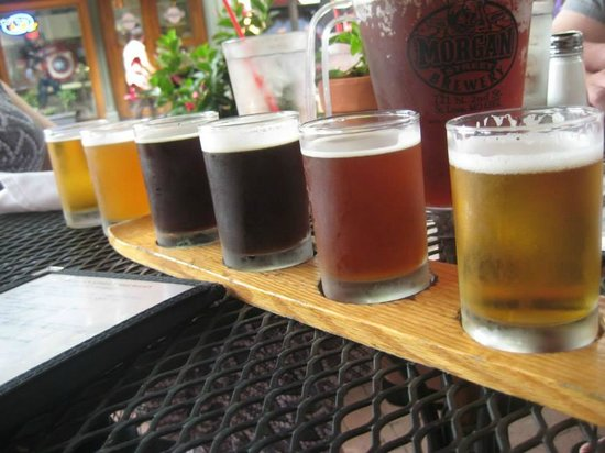 Morgan Street Brewery: Beer Sampler