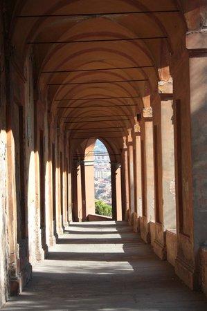 Santuario di Madonna di San Luca: Going down