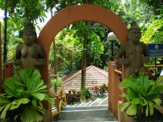 Hotel Villa Teca: Entrada hotel