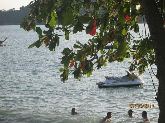 Pangkor Sandy Beach Resort: A beautiful view of the beach area close to PSBR.