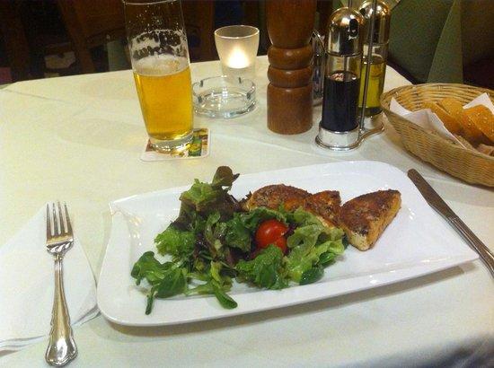 Restaurant Stoeger : Chèvre chaud