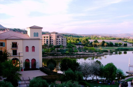 Hilton Lake Las Vegas Resort & Spa: View