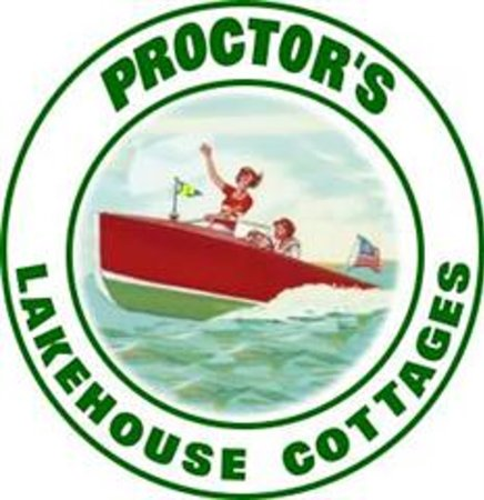 ‪‪Proctor's Lakehouse Cottages‬: Our lake based fun logo.‬
