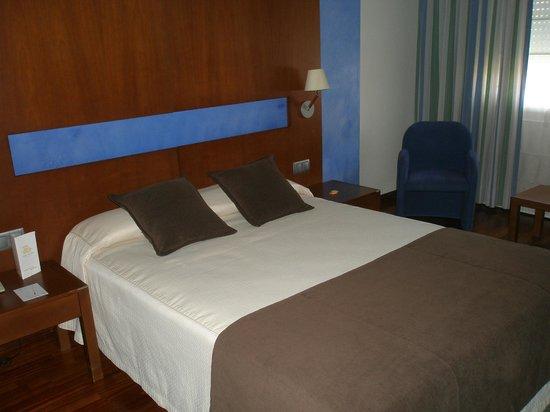 Hotel America Vigo: esa almohada inexistente
