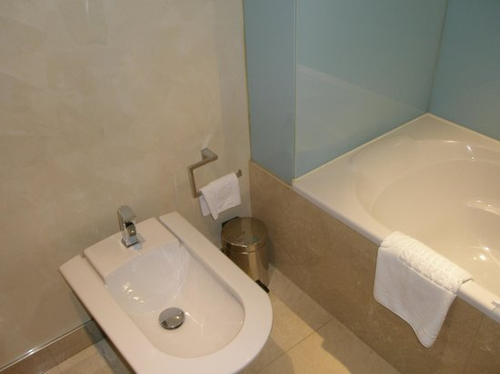 Hotel America Vigo: baño