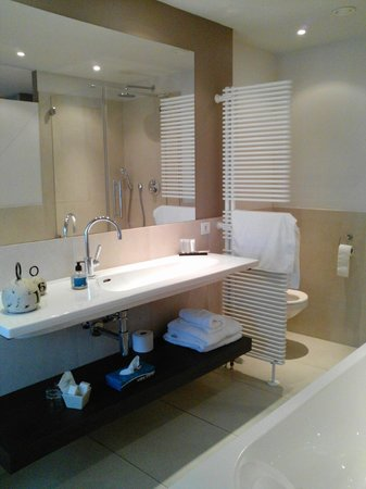 Hof Ter Duinen : salle de bains très spacieuse