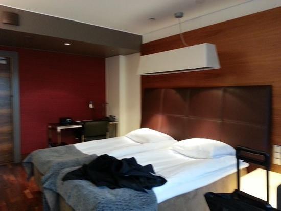 GLO Hotel Kluuvi Helsinki: Good room size.